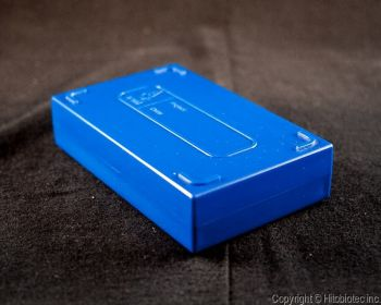 Plastic Microscope Slide Storage Box - 25 Place
